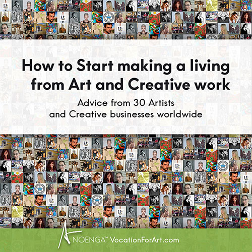 How to Start making a living from Art and Creative work FREE publication download